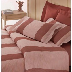 Set Duvet Cover Klack BOSTON LINE BORDEAUX