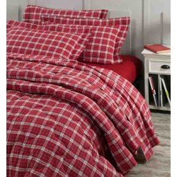 Set Duvet Cover Klack CLAN 18 RED