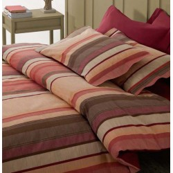 Set Duvet Cover Klack HARVARD LINE BORDEAUX
