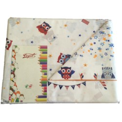 Set bedclothes Cogal Arcobaleno