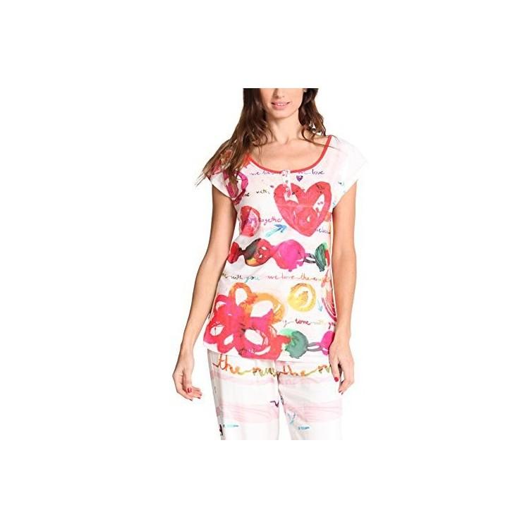 Maglia del pigiama Desigual Loveparty