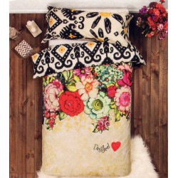Duvet Cover Desigual Lovely Garden Single