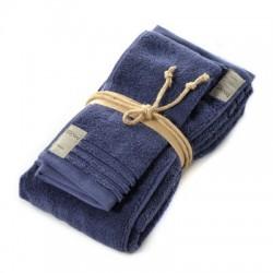 Coppia asciugamani Fazzini COCCOLA (1+1) ospite e asciugamano QUETZAL 117