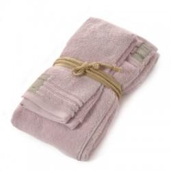 Coppia asciugamani Fazzini COCCOLA (1+1) ospite e asciugamano QUARZO 118