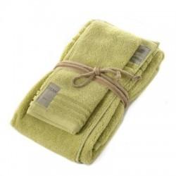 Coppia asciugamani Fazzini COCCOLA (1+1) ospite e asciugamano SEDANO 119