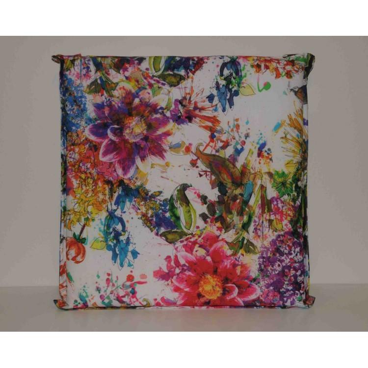 Coppia cuscini per sedie Klack FLOWERS