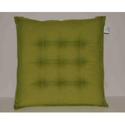 Coppia cuscini per sedie 9 punti Klack GEMMA Verde acido