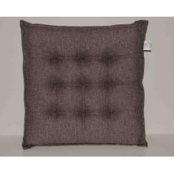 Coppia cuscini per sedie 9 punti Klack GEMMA Nocciola