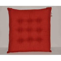 Coppia cuscini per sedie 9 punti Klack GEMMA Arancio