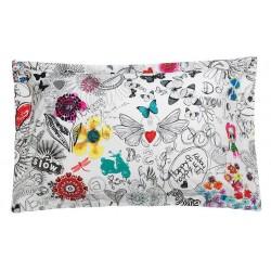 Federa cuscino Desigual Bolimania 50x80
