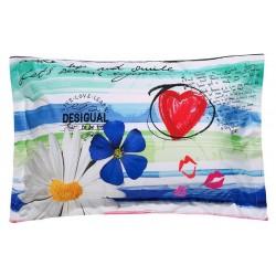 Federa cuscino Desigual Blue Summer 50x80