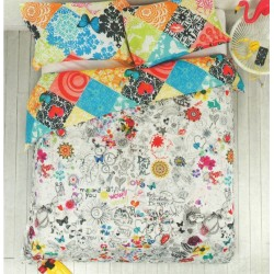 Desigual Copripiumino.Duvet Cover Desigual Lollipop Single
