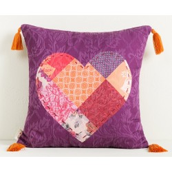 Cuscino Decorativo Desigual Romantic Square 45X 45