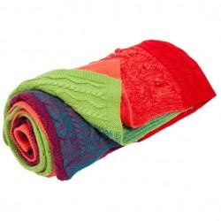 Plaid Desigual Blanket Rainbow